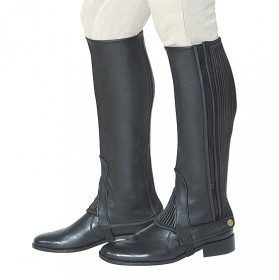 "Leather Half chaps ""Super soft"""