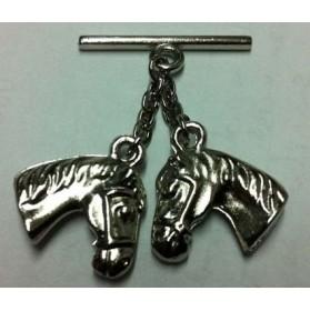 Cairel metálico cabeza caballo