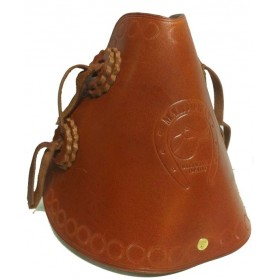 Western Leather Stirrups wide Passage