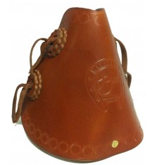 Western Leather Stirrups narrow passage
