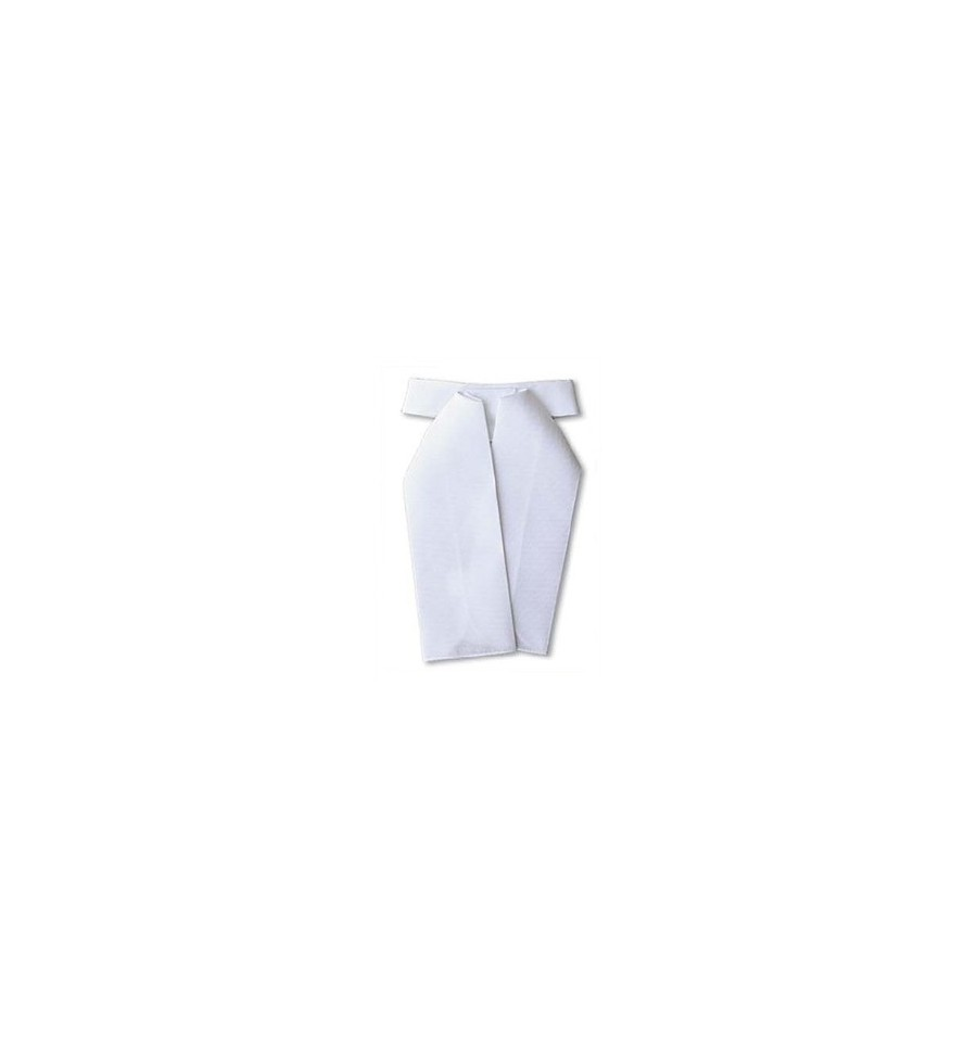 Plastrón unisex Tattini blanco