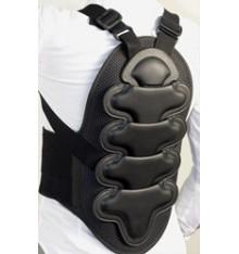 Protector de columna salvaespaldas equitación