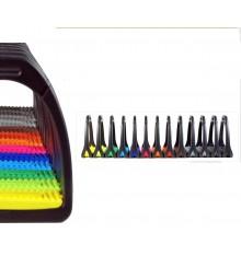 Estribos de colores Compositi profile premium de montar a caballo