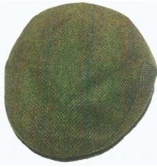 Gorra campera verde espiga de paño