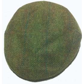 Gorra campera verde espiga