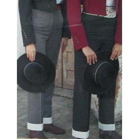 Pantalón Campero mujer con vuelta