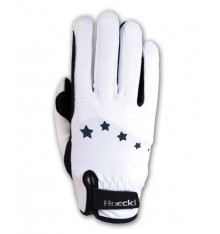 Guantes Roeckl Junior blanco