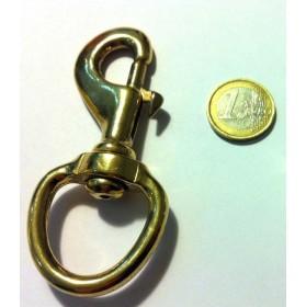 Mosquetón de bronce para ramal