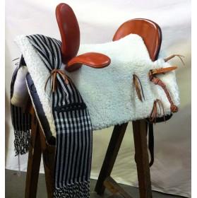 Silla vaquera amazona artesana Duval