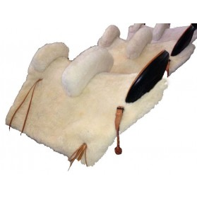 Silla Vaquera mixta doble adulto-niño de fibra