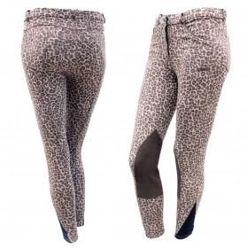 Pantalón equitación mujer Daslo Animalier Tattini Animal Print