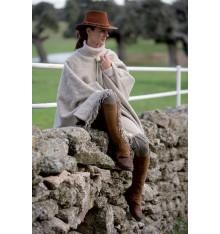 Poncho de lana Grazalema