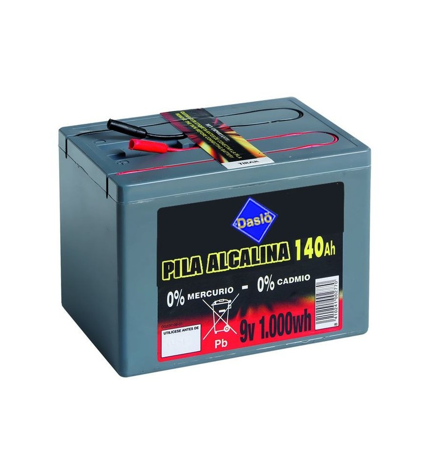 Batería 9V 1000 Wh 140 Ah