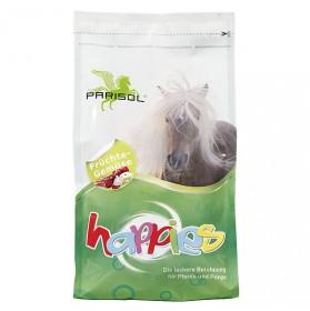 Caramelos para caballos Parisol Happies sabor Fruta-verdura