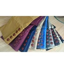 Pantalón campero unisex de botones