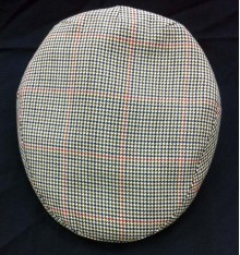 Gorra campera de verano espiga azul-rojo