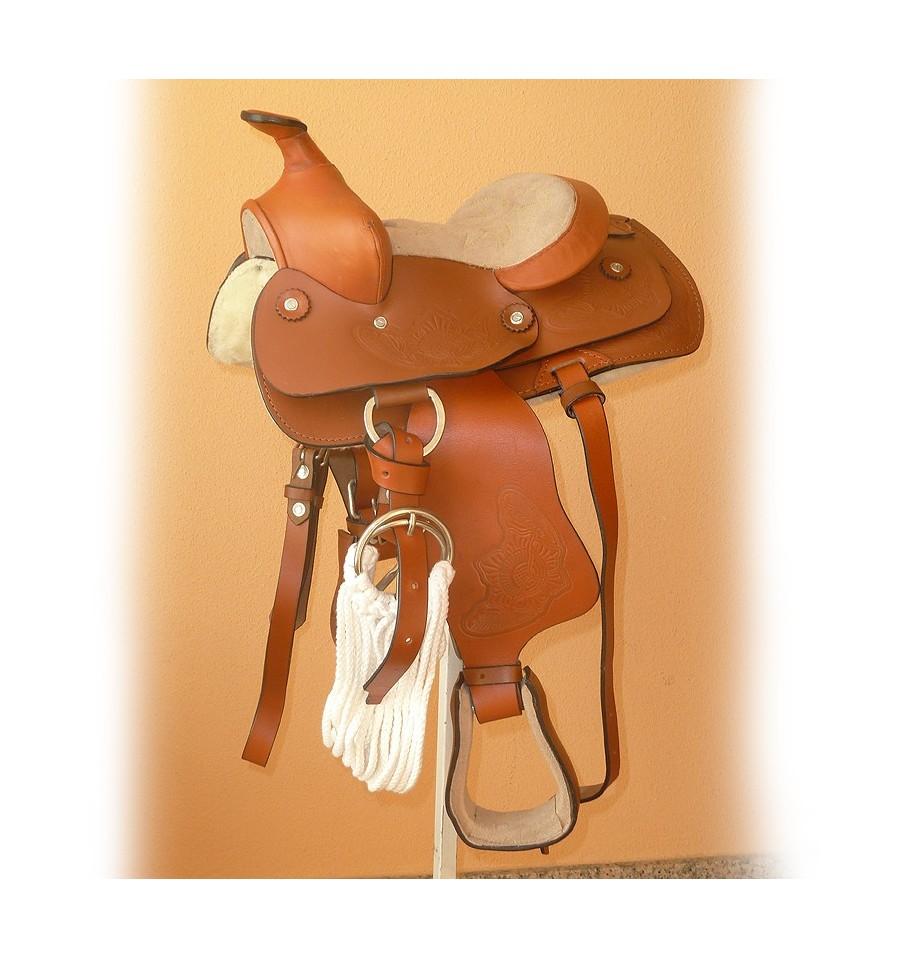 Silla Tejana pony Wicmoel niño