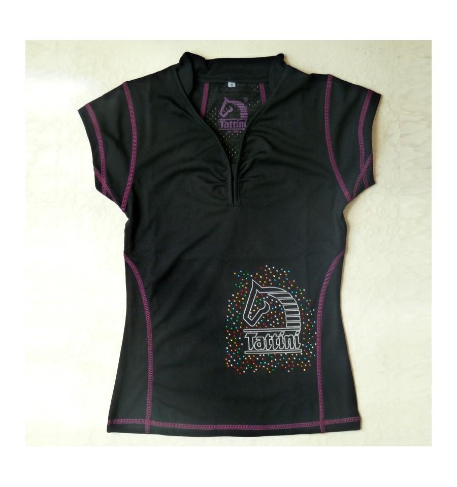 Camiseta equitación mujer