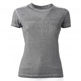 Camiseta Equitación Gris Tattini