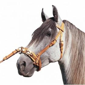 Cabezada para caballo con serreta articulada