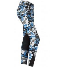 Pantalón de equitación mujer camuflaje Daslo