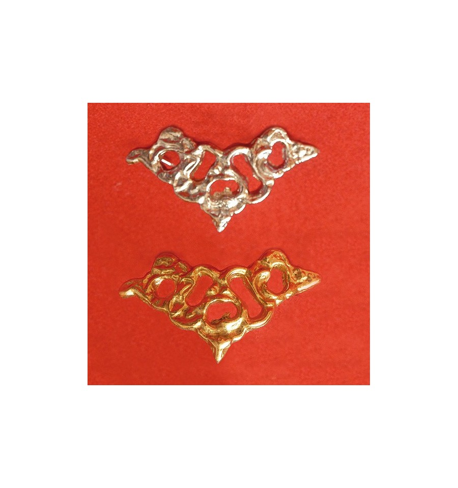 Browband or noseband ornament for Portuguese Cortezia bridle
