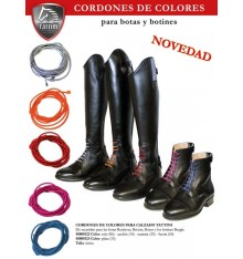 Cordones de colores para botas