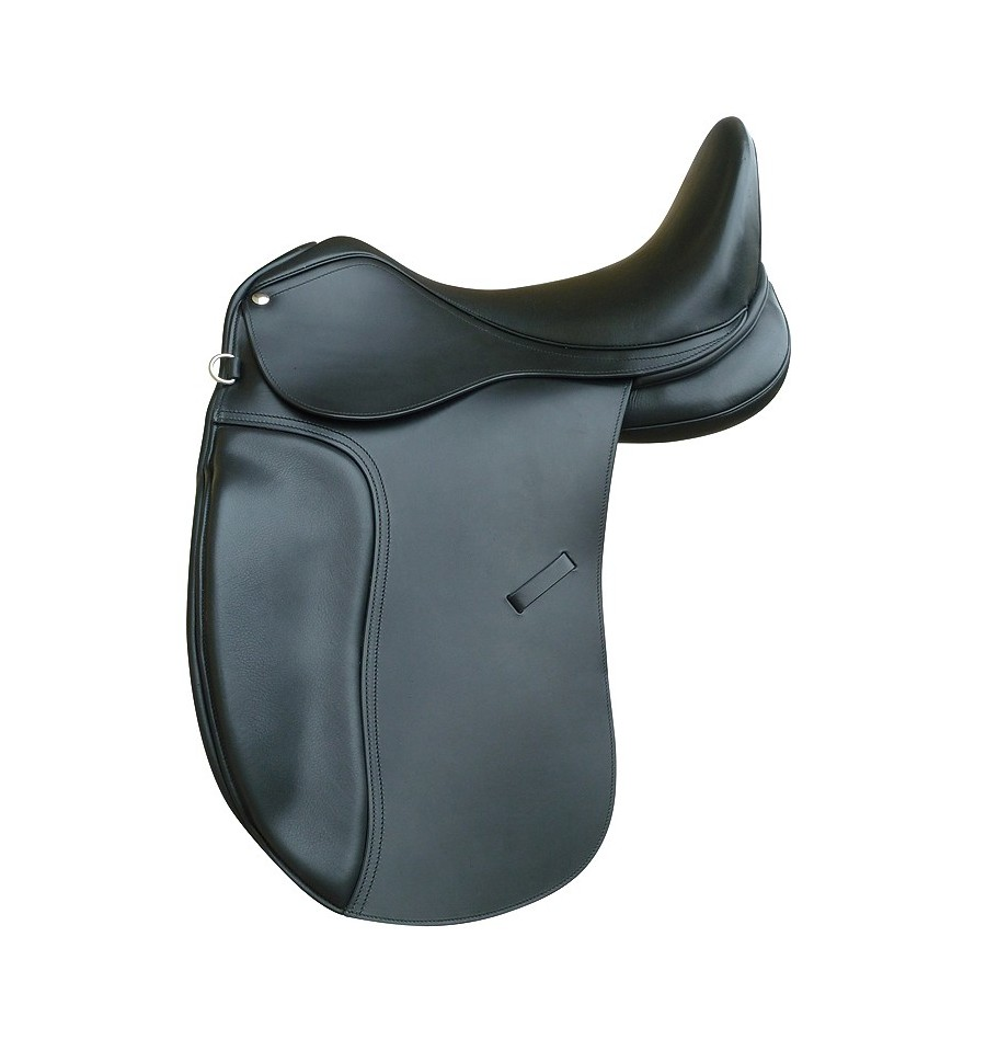 Omega Dressage Saddle with deep seat