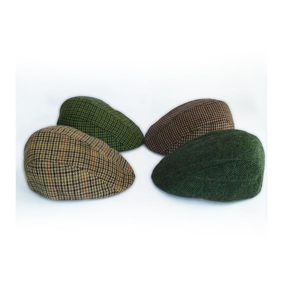 Gorra inglesa de paño