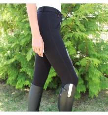 Pantalón de equitación elástico para mujer
