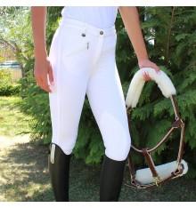 Pantalón de equitación elástico niño