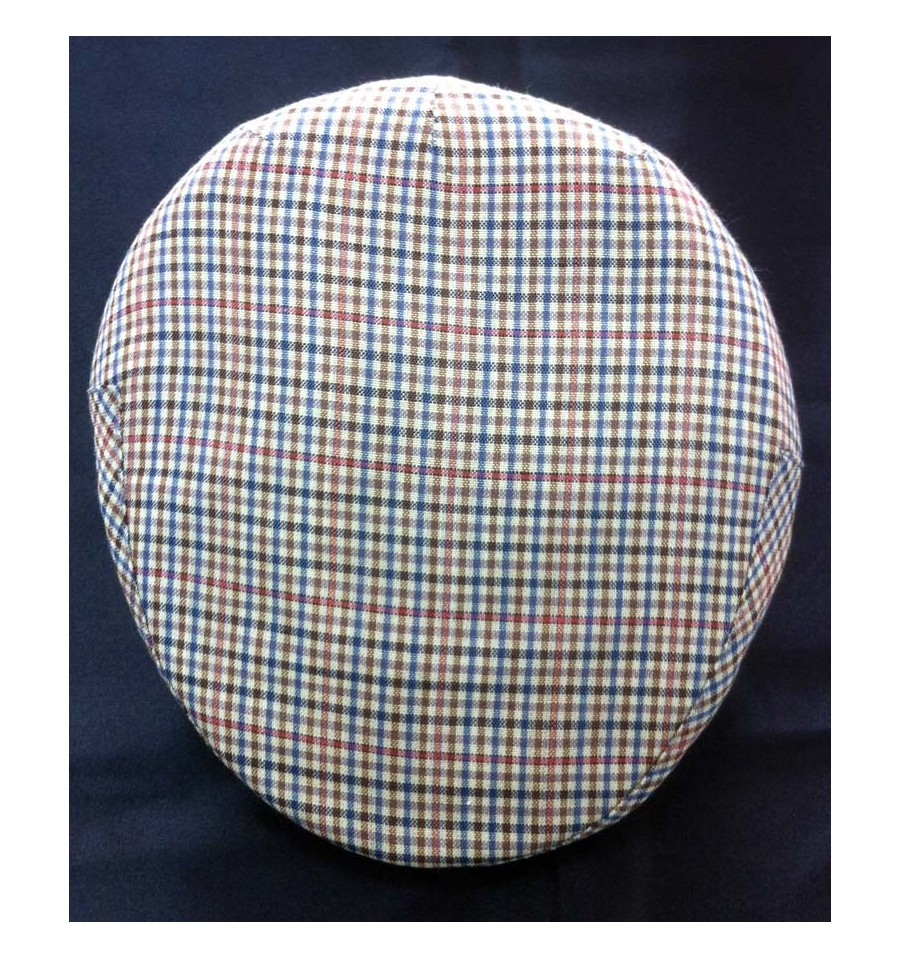 Gorra campera niño de verano azul-roja