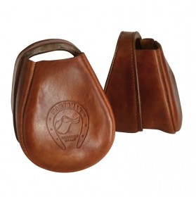 Leather stirrups