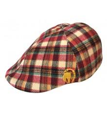 Gorra camper Hunter  cuadro escocés