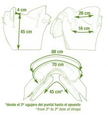 Silla de cuero portuguesa Riaño 32 sillero