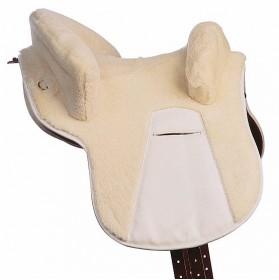 Zalea para silla potrera de piel de cordero Marjoman