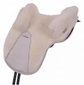Zalea para silla potrera Jerez de piel de cordero