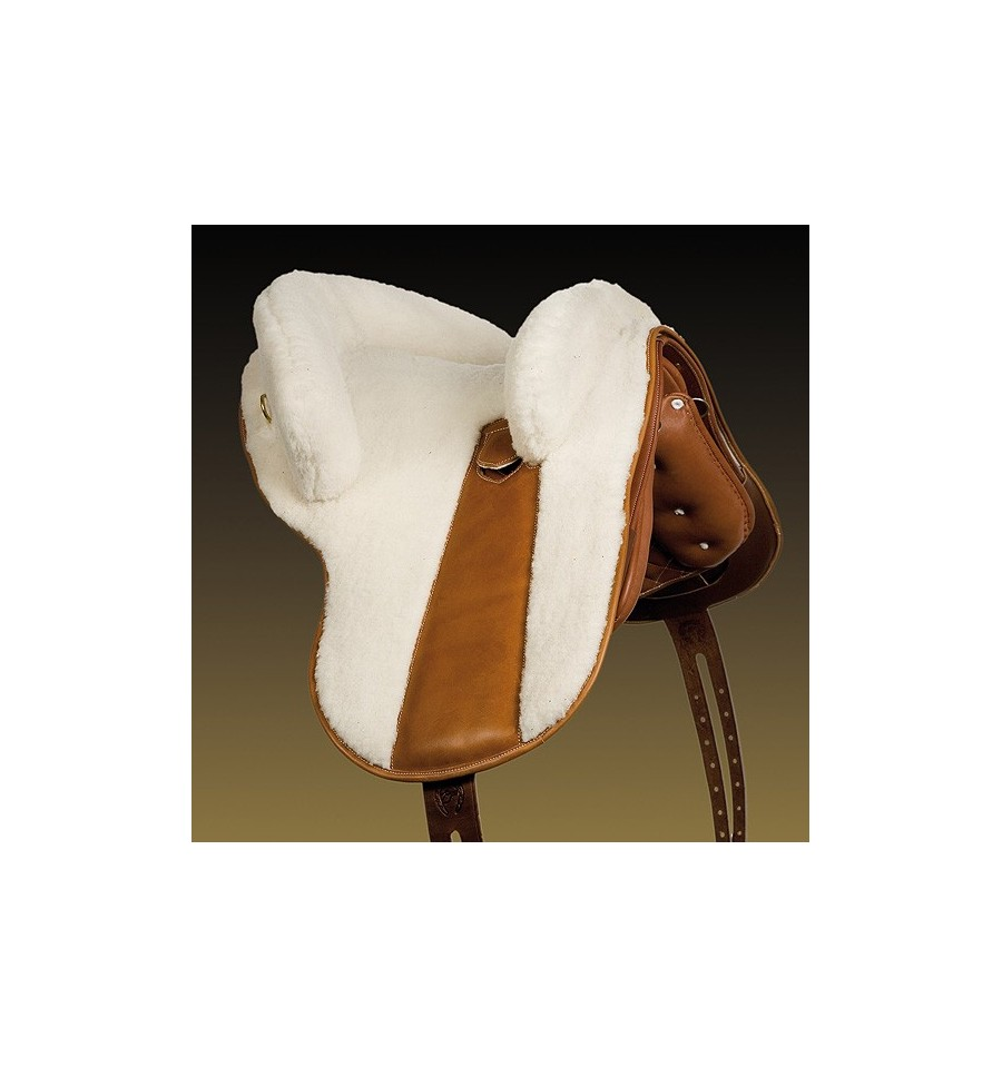 Zalea para silla potrera Real de piel de cordero Marjoman