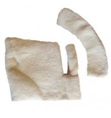 Zalea para montura vaquera mixta piel de cordero