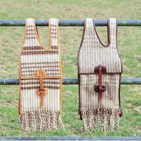 Alforja de lana para caballo