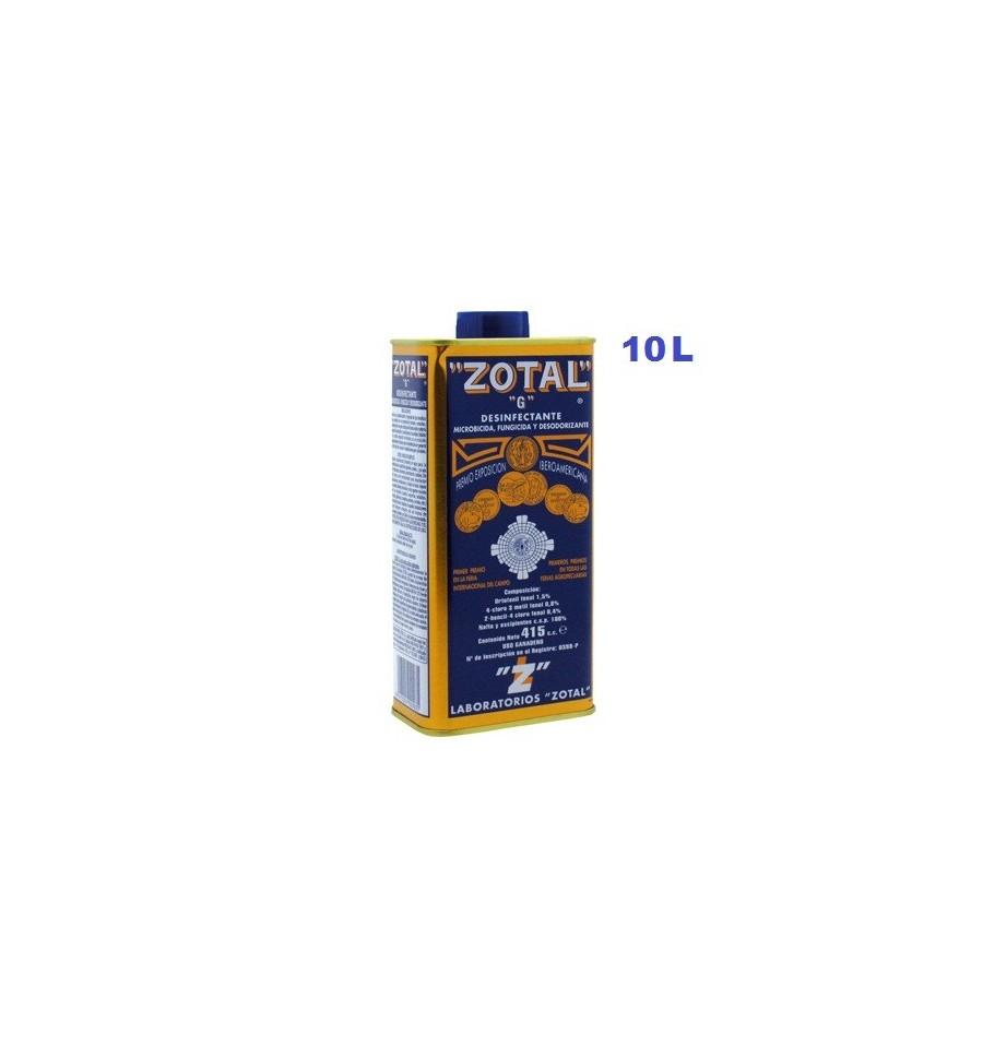 Zotal desinfectante 10 L