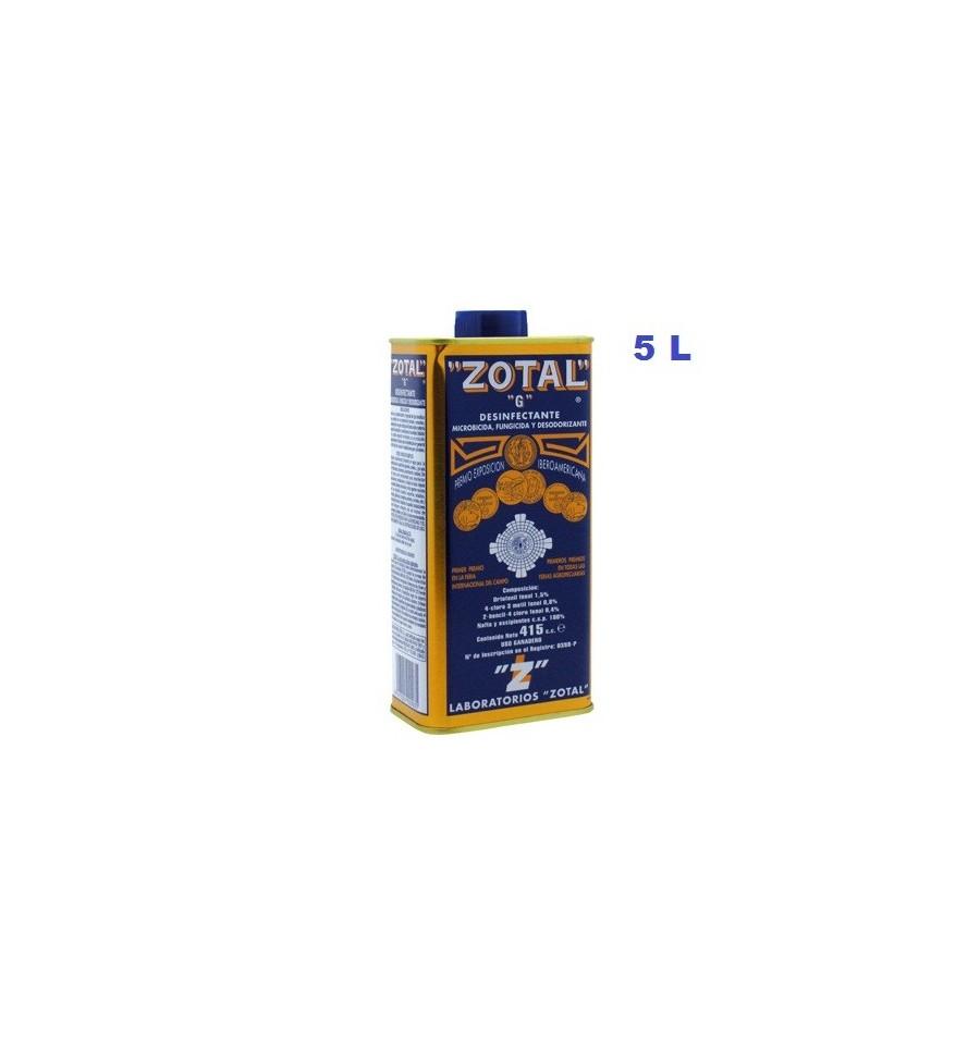 Zotal desinfectante 5 L