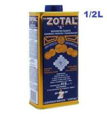 Zotal desinfectante Medio Litro
