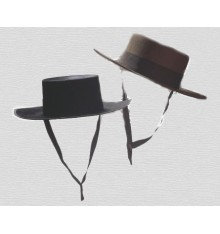 Sombrero cordobés de ala ancha