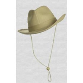 Sombrero vaquero Cowboy de lona beige