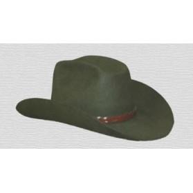 Sombrero Western de fieltro, estilo vaquero