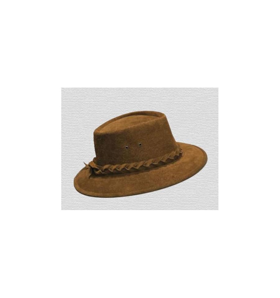 Sombrero australiano de ante