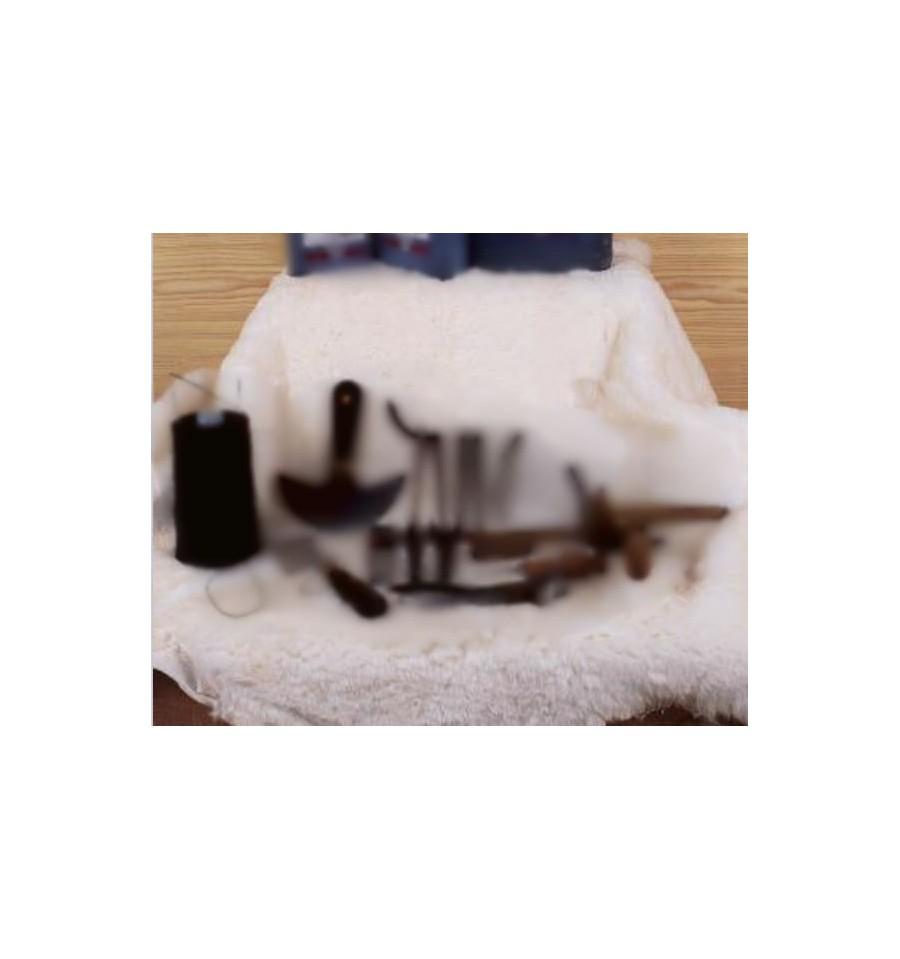 Pieles de cordero 51 € (mínimo 10 pies)