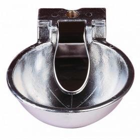 Bebedero de lengüeta para caballo en aluminio
