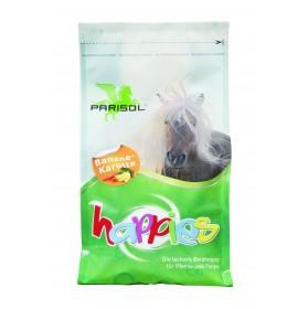 Caramelos para caballos Parisol Happies sabor Banana-Zanahoria